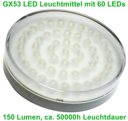 GX53 LED Leuchtmittel