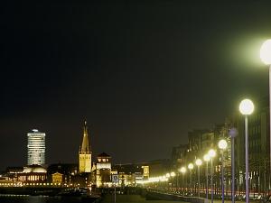 LED Strassenbeleuchtung in Düsseldorf